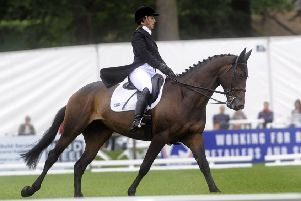 Hazel Towers on her horse Simply Clover.   Picture by Simon Hulme