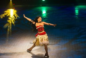 Moana at Disney on Ice.