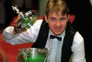 Stephen Hendry who dominated snooker in the Nineties.