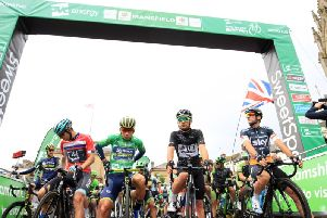The Nottinghamshire stage of the Tour of Britain 2018 will finish in Mansfield