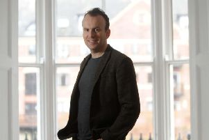 Writer Matt Haig has spoken about how books have helped him in the past.