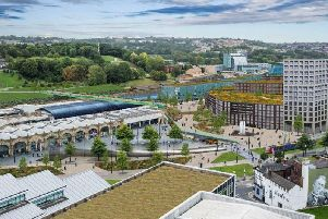 An artist's impression of what the new Sheffield HS2 station could look like was made public earlier this year.