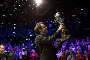 Ronnie OSullivan won the title for the sixth time last year