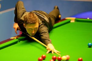Kyren Wilson pictured at this year's World Championships at The Crucible in Sheffield. Picture: Richard Sellers/PA.