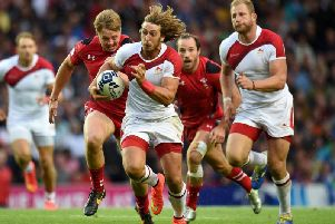 Dan Bibby is back in rugby sevens action this weekend