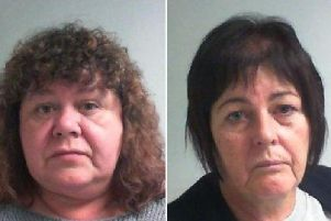 Machele Farrar and Elizabeth Johnson have been jailed for defrauding a vulnerable Whitby businesswoman.