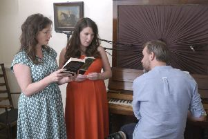 The Unthanks recorded their Emily Bronte song cycle at the Bronte Parsonage Museum.