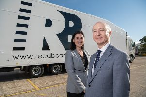 Marcus Boardall, deputy chief executive of The Reed Boardall Group, with finance director Sarah Roberts. Picture: Giles Rocholl