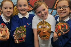 Pupils at Platt Bridge Community School have fun in lessons, they have new wicker animals sculptures and have been designing and building houses as part of their projects.'Some of the younger pupils enjoy their new outdoor learning space and playground area.