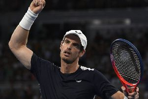 Andy Murray showed his fighting spirit at the Australian Open (Picture: AP)