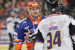 EXIT DOOR: Steffan Della Rovere has been moved on from Sheffield Steelers after a frustrating season.Picture: Hayley Roberts