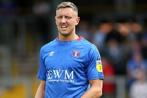 Morecambe's new loan signing Richie Bennett                    Picture: Getty Images