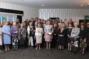 Showmen's Guild of Great Britain, Lancashire, Cheshire, and North Wales Section's Annual luncheon'Mayors and their consorts