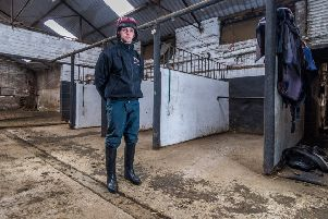 Sam Coltherd has been passed fit to ride Captain Redbeard in today's Peter Marsh Chase at Haydock.