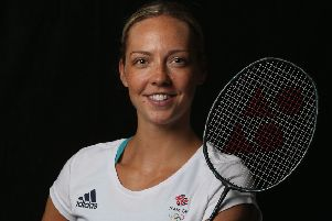Tokyo target: Badminton star Gabby Adcock. Picture: Alex Morton/Getty Images