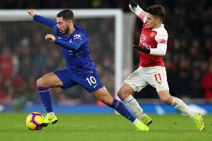 Eden Hazard is expected to seal a move to Real Madrid.  (Photo by Catherine Ivill/Getty Images)