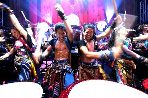Yamato Drummers of Japan.