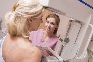 A Generic Photo of a woman taking part in breast cancer screening. See PA Feature HEALTH Breast Cancer. Picture credit should read: PA Photo/thinkstockphotos. WARNING: This picture must only be used to accompany PA Feature HEALTH Breast Cancer.