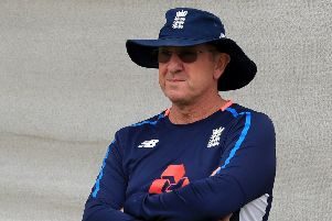 England head coach Trevor Bayliss (Picture: Mike Egerton/PA Wire).
