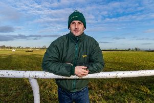 Trainer Phil Kirby who is based at East Appleton near Catterick.