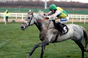 Rowland Meyrick Chase winner Lake View Lad, the mount of Henry Brooke, is to be given a Grand National entry.
