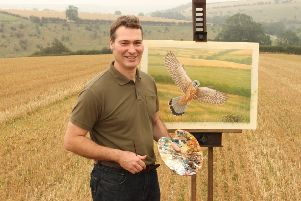Robert E Fuller is one of the country's most acclaimed wildlife artists.