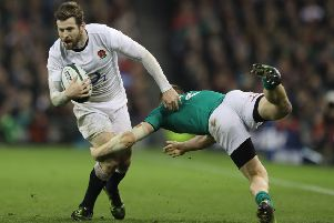 England's Elliott Daly will tackle Ireland again on Saturday (Picture: PA Wire).