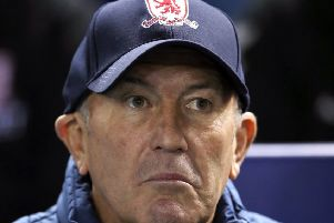 Middlesbrough manager Tony Pulis: 'There's momentum at other clubs that we've not gained in this window.'