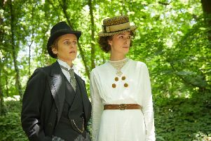 A scene from the film Colette. (PA).