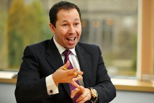 Andrew Malcher, MD of shopping channel High Street TV which is based in Harrogate.  27 January 2011.'Picture Bruce Rollinson