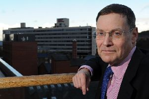 Professor Sir Chris Husbands, Sheffield Hallam University's vice chancellor. Picture: Andrew Roe
