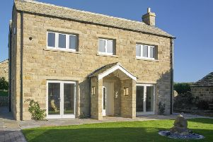 The new eco house is the first self-build Passivhaus in the Leeds area