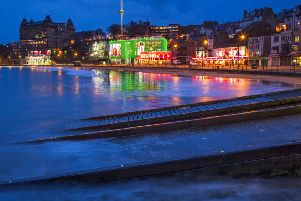 An artist's impression of the new-look Scarborough seafront.