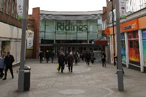 SECURITY: The Ridings Shopping Centre, in Wakefield.