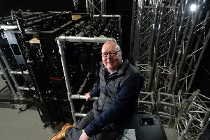Adrian Brooks, who founded Production Park, a live events centre helping to build Yorkshire's reputation in the entertainment sector.