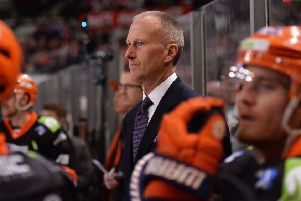 TOm Barrasso, Sheffield Steelers' head coach. Picture: Dean Woolley.