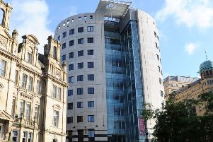 1 City Square, Leeds, which was sold to Aviva Investors for �32m. Picture by Simon Hulme