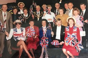 1991: The Mansfield Ladies Circle Last Night of the Proms concert, which raised more than 5K for the Kings Mill Hospital Welcome Appeal. Pictured Centre is Christine Bacon, then chairman of Mansfield Ladies Circle.