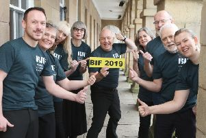 The Buxton International Festival roadshow team.