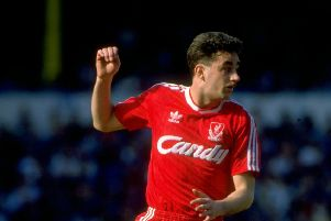 John Aldridge of Liverpool in 1989 (Picture: Allsport UK /Allsport)