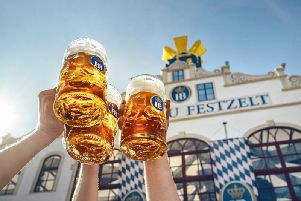 The Munich route was aimed at Oktoberfest revellers
