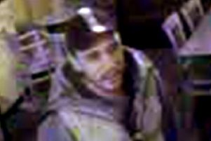A CCTV image of a man who Humberside Police want to trace.
