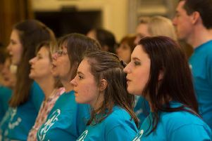 Performers at a previous Chorley Capers show