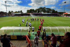 York City will remain at Bootham Crescent for the start of next season after a delay with the Community Stadium's expected completion (Picture: Bruce Rollinson).
