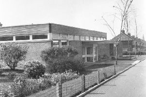 Fulwell Library pictured in 1966.