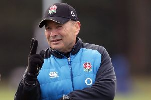 England head coach Eddie Jones (Picture: Adam Davy/PA Wire).