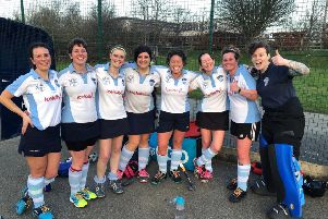 Batley Ladies hockey team overcame City of York with only eight players