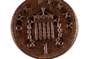 Reader found and wrote about a dropped penny