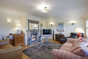 Picture perfect: Make sure the room is tidy, the telly is off and the fire is on.