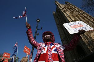 Joseph Afrane joins pro-Brexit and anti-Brexit demonstrators in Parliament Square.  How can the country move on from Brexit? Bishop James Jones poses the question.